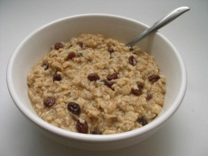 homemade oatmeal