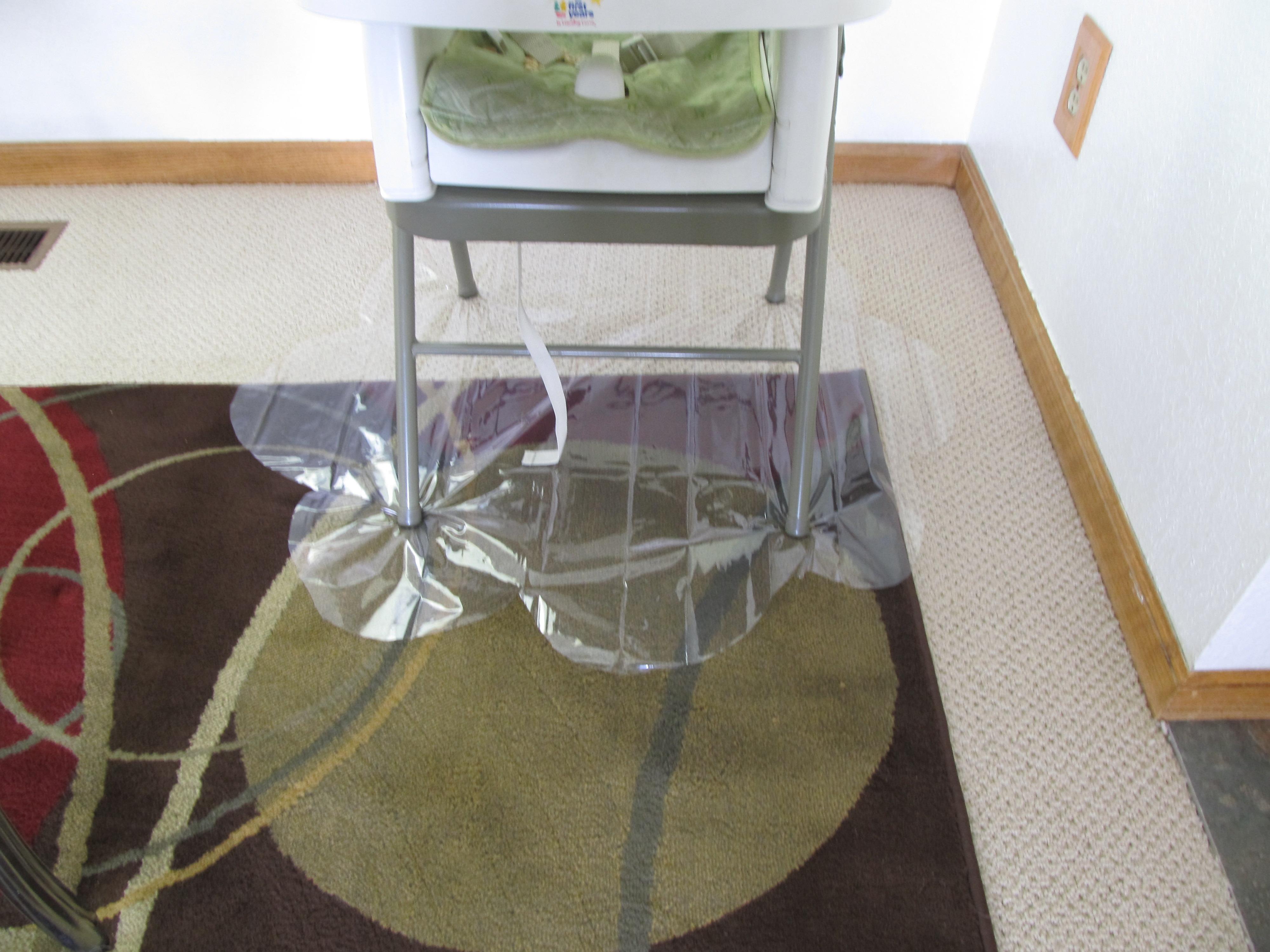 High Chair Floor Pad