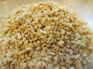 caramel rice krispie bars